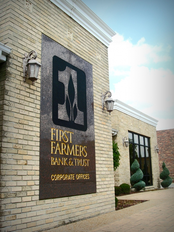 first farmers bank and trust company converse in